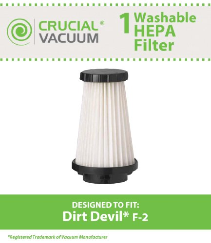 dirt devil f2 filter washable - 2