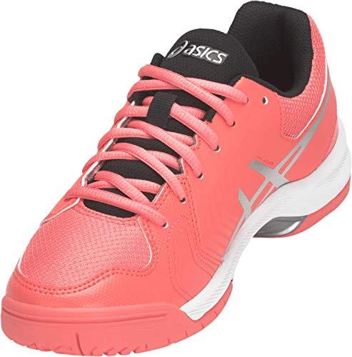 ASICS Gel-Dedicate 5 Women's Tennis Shoe, Papaya/Silver, 5.5 M US by ASICS (Image #3)