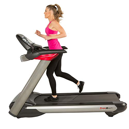 Fitness Reality Gym Ultra Electric Treadmill with Power Incline and Shock Absorption Deck