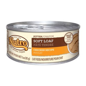 Nutro Natural Choice Soft Loaf Chicken Recipe Canned Kitten Food, Case of 24 For Sale