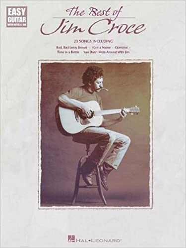 Amazon The Best Of Jim Croce Easy Guitar With Notes Tab