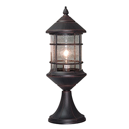 Outdoor Lantern Pole Lights in Florida - 9