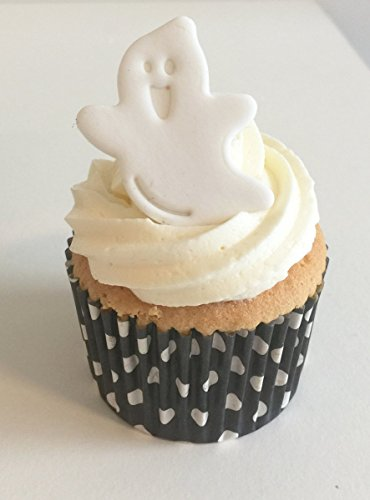 6 Spooky Sugar Ghosts- Edible & Handmade with love in the UK!]()
