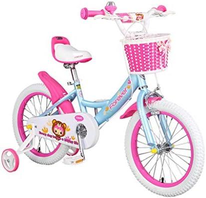 Bicicletas De Chicas Niños De 3-6 Años 14 Pulgadas Rosa Regalo De ...
