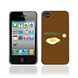 Designer Depo Hard Protection Case for Apple iPhone 4 4S / Egg & Bird