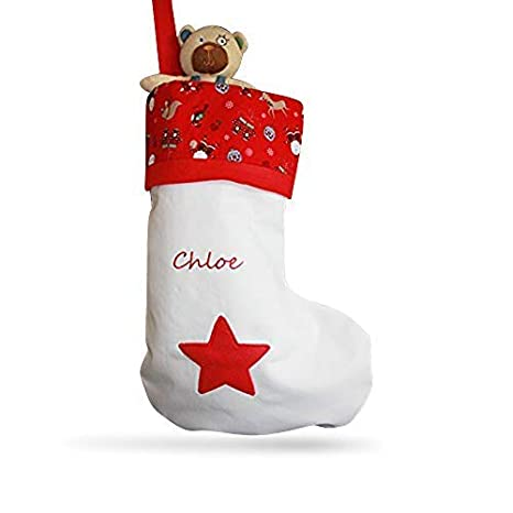 c9792c85d5f Juilet Rose Gifts ALPHABET BARN Christmas stocking personalised ...