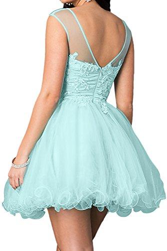 Spitze Festkleid Abendkleider Sweetheart Damen Mini Ballkleider Brautjungfernkleid Lila Ivydressing RwzpqH
