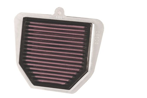 K&N High Flow Replacement Air Filter - Black