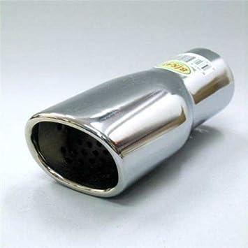 Autohobby 324 Auspuffblende Auspuff Universell Schalldampf Endrohr Blende Edelstahl bis 57mm Chrom A B C G H J CC 3 4 5 6 7