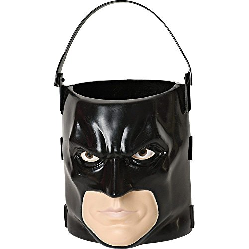 Batman: The Dark Knight Rises: Batman 3D Trick-or-Treat Pail (Black) -