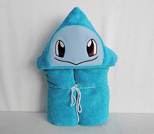 Water Turtle Evolving Creature Hooded Bath Towel - Baby, Child, Tween -