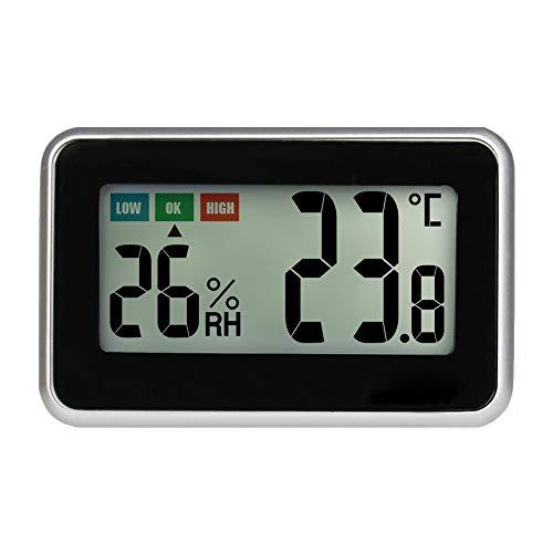 Ladeyi High Precision Miniature Indoor Temperature and Humidity Gauge Comfort Indicator Hygrometer Comfort Indication Indoor Digital Thermo-Hygrometer(Carton)
