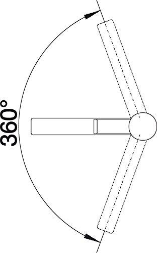 blanco zenos k chenarmatur 1 st ck chrom 517801 k chenausstattung k chenzubeh r shop. Black Bedroom Furniture Sets. Home Design Ideas