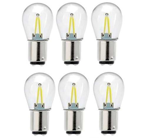 (Best to Buy (8-PACK) 2W (12-15W) LED lamp Replacement 1076 Auto/Marine/RV Signal Bulb)