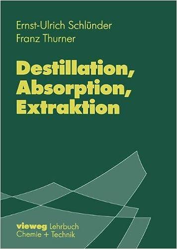 Destillation, Absorption, Extraktion
