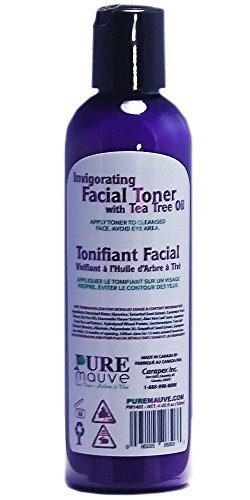Tea Tree Facial Toner, Pure Mauve Invigorating Facial Toner with Natural Australian Tea Tree Oil, for Oily Skin, Dry Skin, Blemish, Itchy Skin, Paraben Free, Alcohol Free