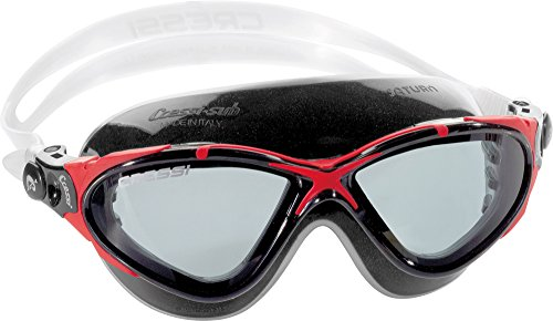 Cressi SATURN, Pure Crystal Silicone Swimming Adult Goggles - Made in Italy