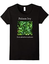 Plant ID Shirts: Poison Ivy Identification T-Shirt