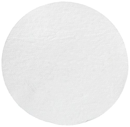 Whatman 1851-037 Quartz Microfiber Binder Free Filter, 2.2 Micron, 6.4 s/100mL Flow Rate, Grade QM-A, 3.7cm Diameter (Pack of 100) by Whatman