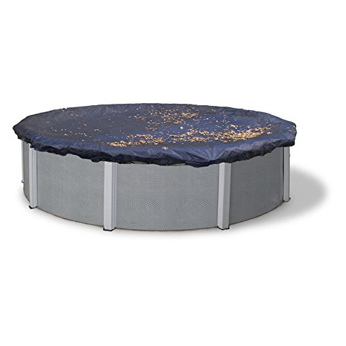 Dirt Defender Round Above Ground Leaf Net Pool Cover