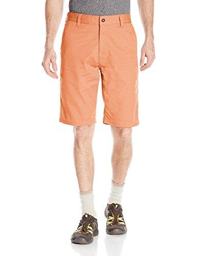 prAna Table Rock Chino Shorts, Sunset Pink, Size 40