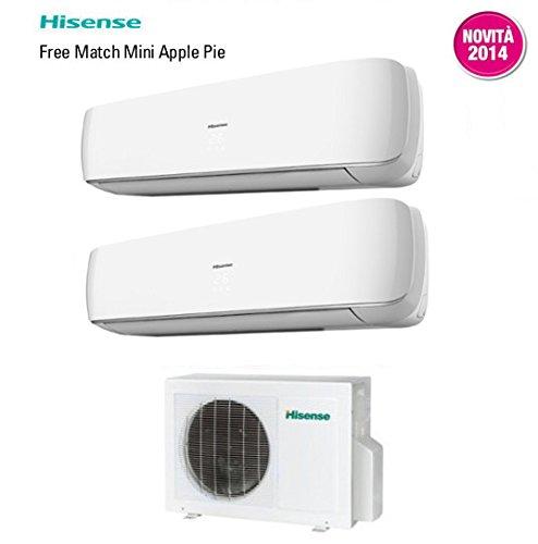 Climatizzatore condizionatore hisense dual split inverter for Condizionatori portatili inverter