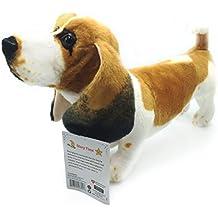 Bourguignon the Basset Hound | 19 Inch Large Dog Stuffed Animal Plush Dog | By Tiger Tale Toys