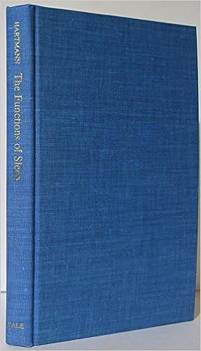 Book Functions of Sleep