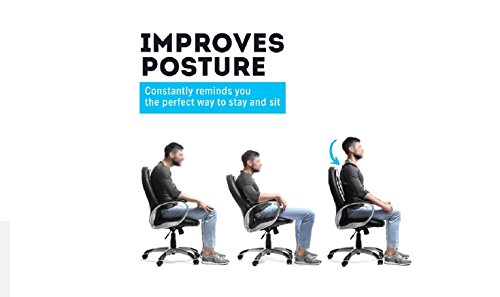 Back posture corrector for women and men, comfortable fully adjustable Support Back Shoulder Belt and neck brace heated Tourmaline Magnetic nuu you