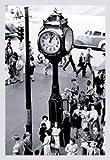 Paper poster printed on 20 x 30 stock. Reading Terminal Clock, Philadelphia, PA