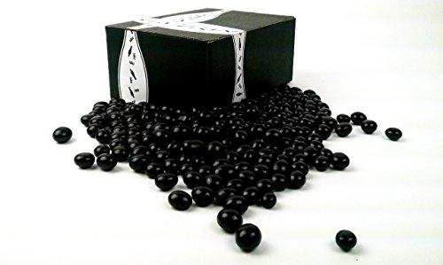 Cuckoo Luckoo Gourmet Dark Chocolate Espresso Beans, 1 lb Bag in a BlackTie Box (Chocolate Beans Covered Coffee)