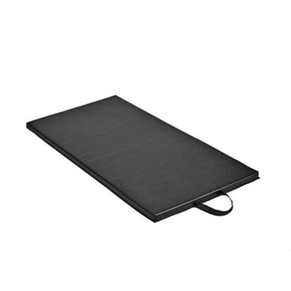 XUEDATING Fitness Mat with,Exercise Yoga Mat with,2.5cm Thick Foam Mats Yoga Gym Abs Exercise Home Fitness Workout Camping Mat