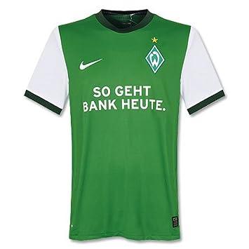 Werder Bremen 2009-2010 Home Jersey Green 24 Pizarro M