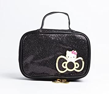 f89dc1792 Amazon.com : Hello Kitty Cosmetic Pouch: Glitter : Makeup Travel Cases And  Holders : Beauty