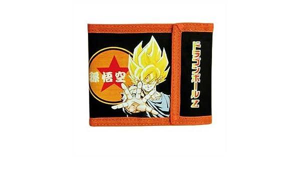 Cartera de Dragon Ball Z Son Goku (Super Saiyan DBZ 13 x 9 cm: Amazon.es: Hogar