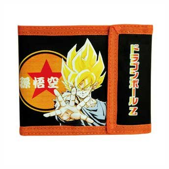 Cartera de Dragon Ball Z Son Goku (Super Saiyan DBZ 13 x 9 cm: Amazon.es: Hogar