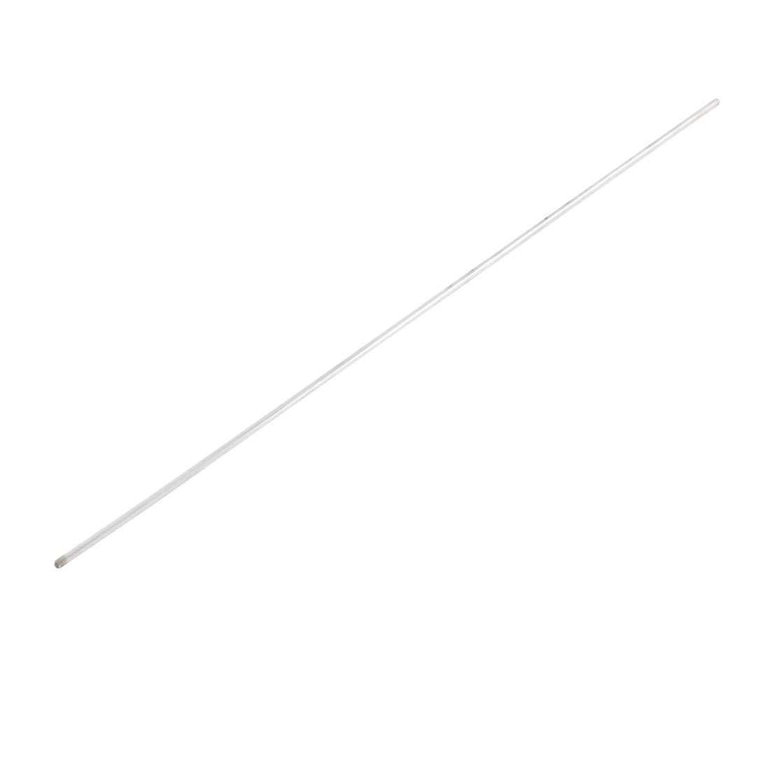 uxcell Cylinder Chrome Plated Linear Shaft 2.2mm x 250mm