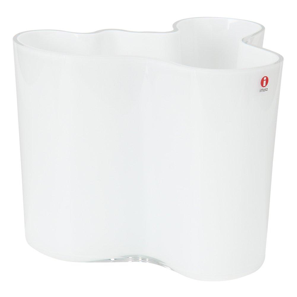iittala [ イッタラ ] Aalto アアルト vase ベース opal white オパールホワイト 1007042 160mm 北欧ブランド [並行輸入品] B017SHKXAE オパールホワイト オパールホワイト