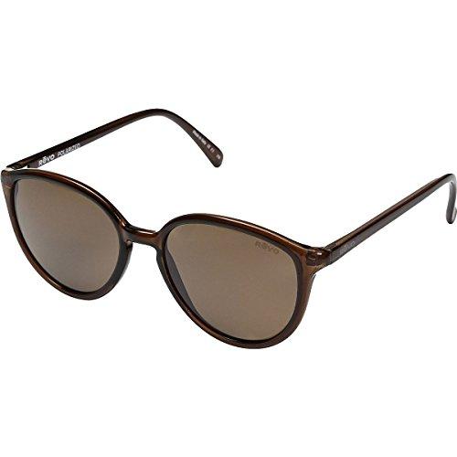 Revo Re 5013 Greison Polarized Round Sunglasses, Mahogany Terra, 53 - Sunglasses H&m Mens