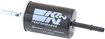 K/&N PF-2000 Carbon Steel Housing Fuel Filter for Navigator//Focus//Mustang//F150