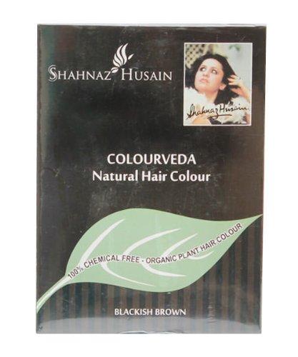 100% CHEMICAL FREE ORGANIC 100g SHAHNAZ HUSAIN HENNA INDIGO HAIR COLOR - BLACKISH - Color Brown Blackish