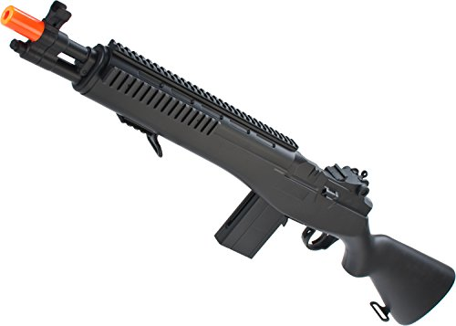Evike - Double Eagle M14 SOCOM Airsoft Spring Powered Rifle (Rifle Socom Spring M14)