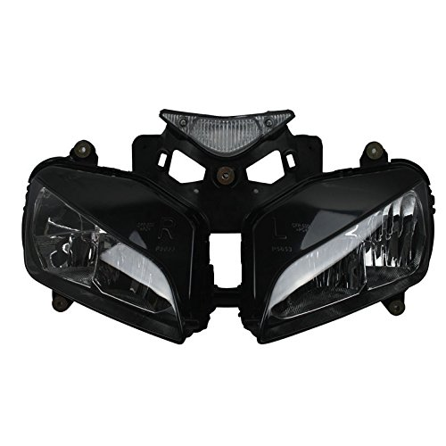 XMT-MOTO Motorcycle Headlight Head light Lamp Assembly For Honda CBR1000RR 2004 2005 2006 2007