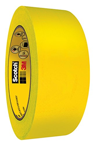 Scotch Ultimate Paint Edge Masking Tape 2460 Gold, 2 in x 60 yd 3.3 mil by Scotch
