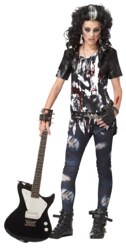 California Costumes Toys Rocked Out Zombie, X-Large