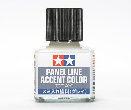 Rated Accent Top (TAMIYA 87133 Panel Line Accent Color Gray For Plastic Model Kit)
