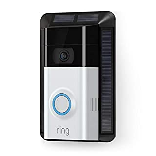 Solar Charger for Ring Video Doorbell 2