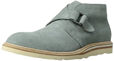 Cole Haan Men's Christy Wedge Monk Chukka Boot,Grey Suede,10 M US