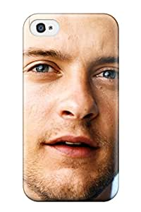 Iphone Tpu Case Skin Protector For Iphone 4/4s Tobey Maguire With Nice Appearance