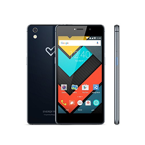 Energy Phone Pro 4G Navy (4G, Quad-Core Snapdragon 616, RAM de 2 GB, memoria interna de 16 GB, cámara de 13 Mp, Android 5.1) azul marino